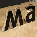 custom 3D acrylic letters acrylic Letter words