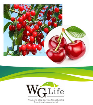 Pure Vitamin C 25% Acerola Cherry extract Powder Reduce Blood Glucose