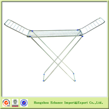 Promotion Stainless steel folding towel and clothes floor free standing drying rack