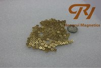 ISO Certificate HR Brand 35M Golden Color NdFeB Magnet China