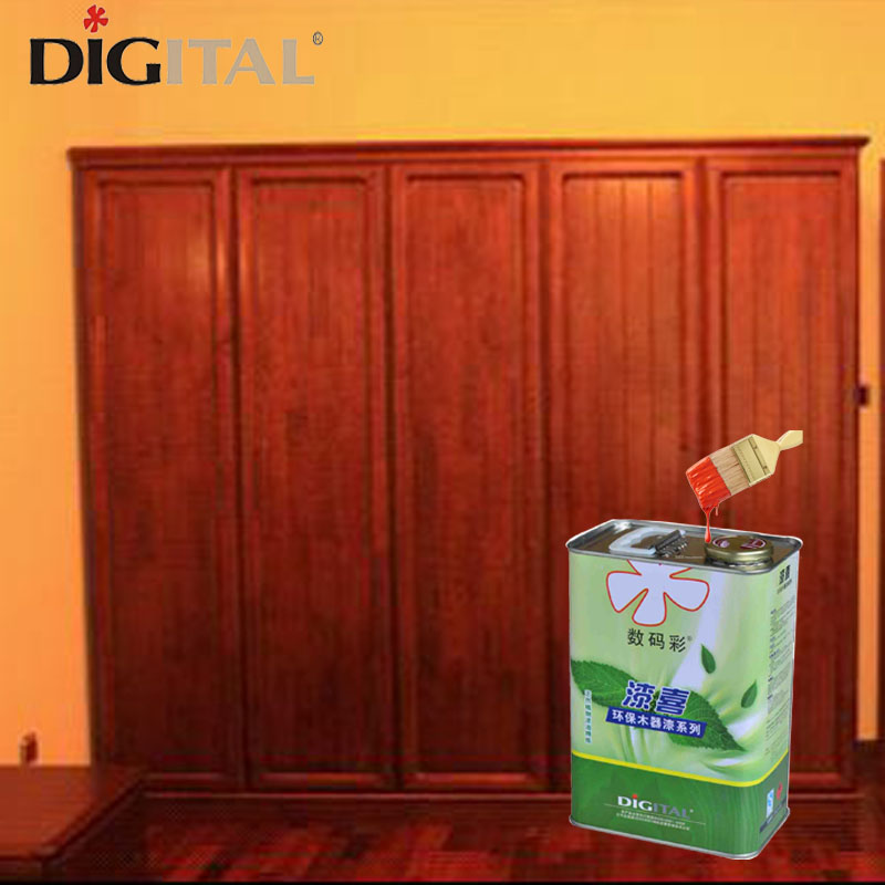 Anti-scratch high gloss wood stain paint for furniture