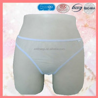 Discount online shopping sanitary women's briefs for single use