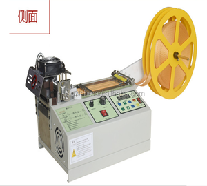 Factory price christmas cake ribbon cutting machine with hot blades