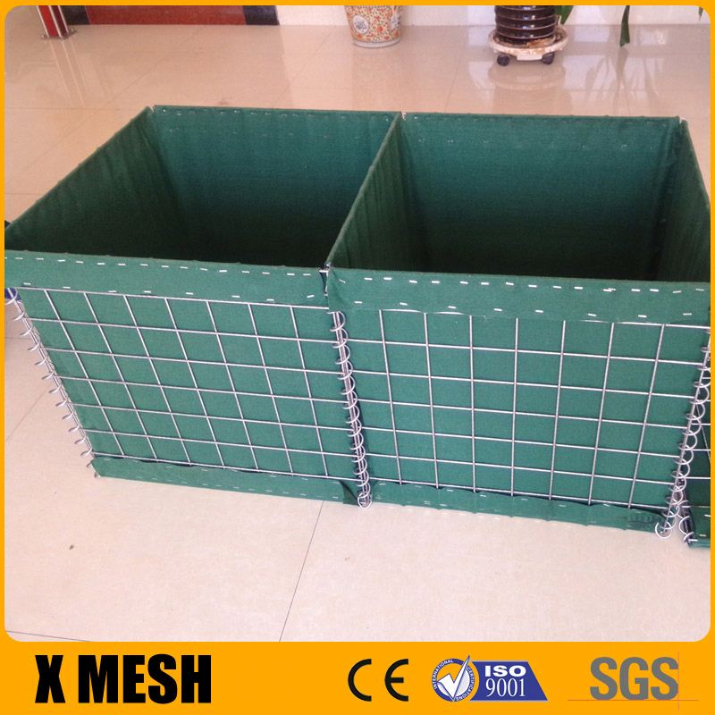 Hot Dipped Galvanized Hesco Bastion Concertainer for Military Protective Barriers
