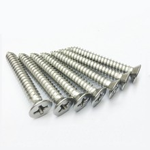 China factory decorative stainless steel self tapping screw fastener