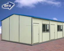 China Light Steel Corrugated Sandwich Panel Prefab Houses