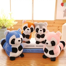 Custom Lovely Animal Plush Toys Stuffed Raccoon Doll Plush Toys For Crane Machines