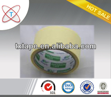 Green crepe paper adhesive tape for the car painting