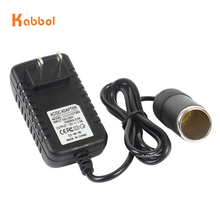 AC 100-240V to 5V/3A AU/US/UK/EU Plug Charger Power Adapter Cigarette Lighter Socket Travel Wall Charger Converter for Car