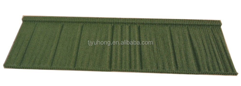 Color stone coated metal roofing tile / Steel Roofing Tile