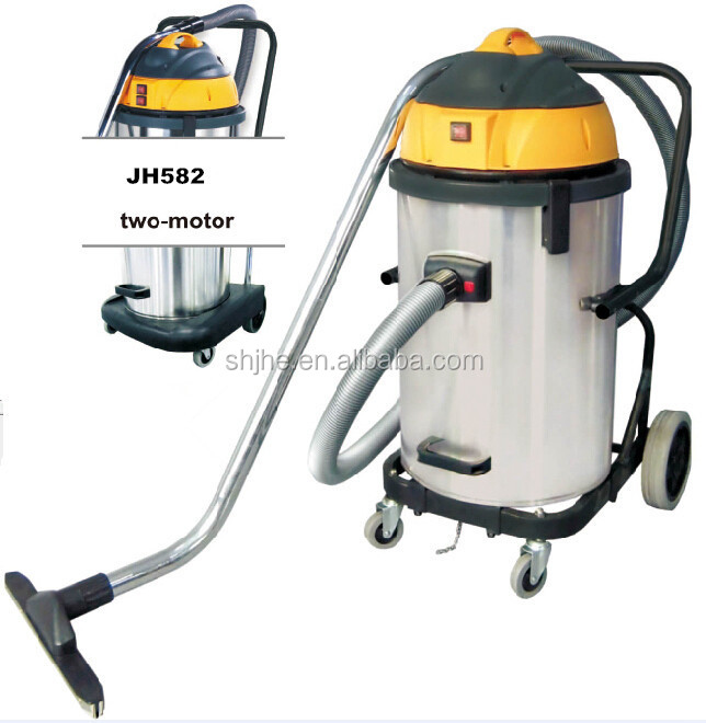 58L wet and dry 220V two motor home industrial ash vacuum cleaner
