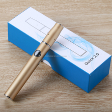 2018 innovative heat not burn tobacco device Quick 2.0 dry herb vaporizer for real cigarette