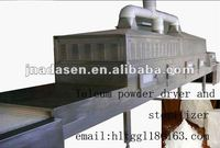 Talcum powder microwave sterilizing machine with CE