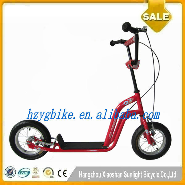"16""/12"" Cheap Pro Kick bike scooter for children"