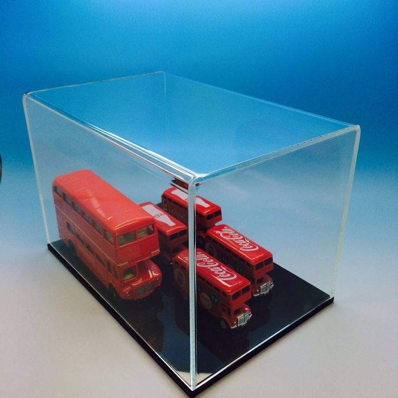 High quality long duration time qvc nascar display case