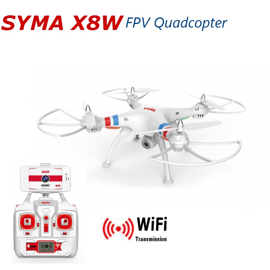 Syma X8G 2.4G 4CH With 8MP HD Camera Headless Mode RC Quadcopter