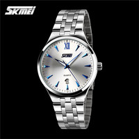 fashion quartz watch for couple watch steel lover watch