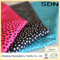 China Supplier High Quality polyester floral printed fabric