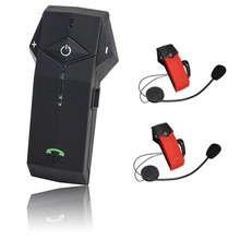 Top Seller Bluetooth Motorcycle Helmet Two Way Radio Headset Intercom COLO-RC Interphone + Remote Controller