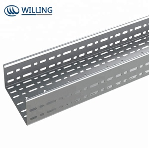 Wire mesh cable tray making machine manufacturer
