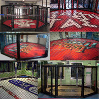 Factory direct octagon mma cage for boxing club