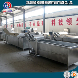 factory price fruits and vegetable processing washing machine