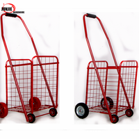 2014 Hot sale new style folding shopping trolley bag with chair