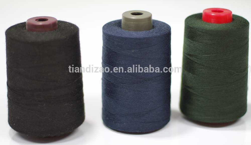 Aramid wholesale colorful 100% flame retardant aramid sewing thread for sewing work gloves