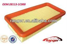 28113-1C000 chinese auto filter factory HYUNDAI high quality air filter
