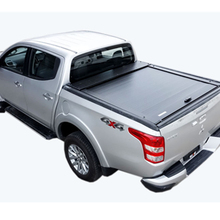 waterproof aluminum 4x4 roller shutter tonneau bed cover for Triton L200 double cab 2009-2014