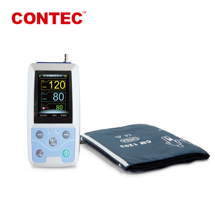 CONTEC 2016 CE and FDA ABPM50 24 hour ABPM Ambulatory Blood Pressure Monitor contec medicine
