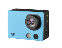 FHD 1080P 2inch touch screen Waterproof sport action camera car dvr