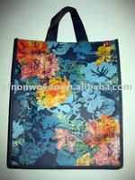 Colorful nonwoven shopping bag