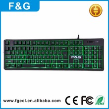 Compact Mechanical Type Design RGB 7 Colors Laser Computer Gaming Keyboard Manufacturer
