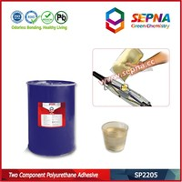 SP2205 two component polyurethane resin with good adhesion to metals and plastics
