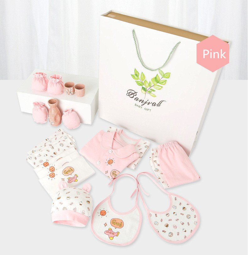 0db9dac33 New arrival Summer newborn baby gift set 100% cotton 18pcs 0-6Months ...