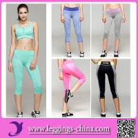 2016 YY1589 High Quality Sport Yoga Compression Padded Leggings Manufacturer