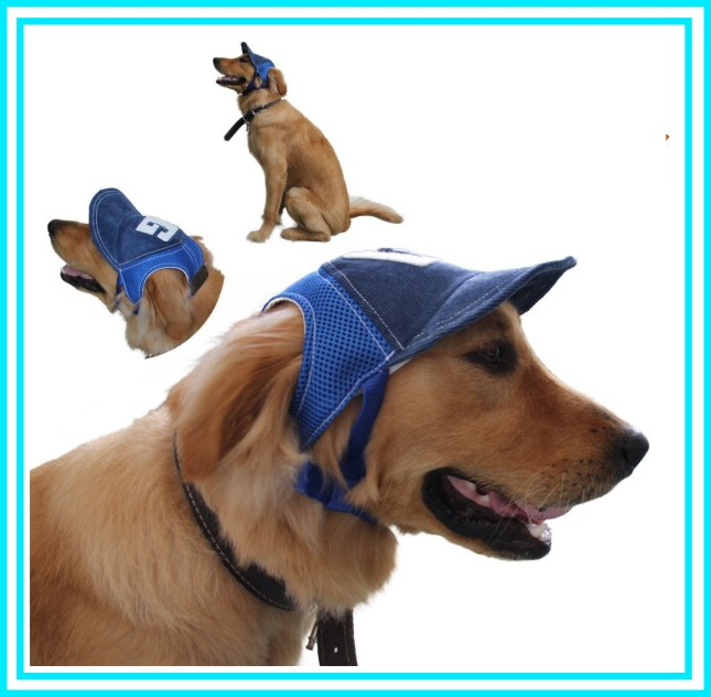 Fashion Large Dogs Baseball Caps Sun Protection Outdoor Pet Dog Cap Hat