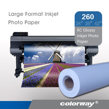 260g high glossy wide format photo paper