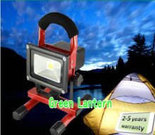 Battery powered exchangeable led flood light 30W portable floodlight led outdoor event camping cool white