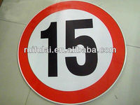 reflective traffic road sign, street signs,safety signs