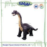 ICTI certificated products long neck brontosaurus dinosaur plush toy