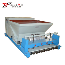 120mm thickness large span vibration hollow core frame prestresded slab making machine