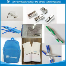 S9935081 Unicef School Set Arabic Student Kit Grade 5-8 Pencil,Pencil sharpener,Eraser,Book,Bag,Student's Geometry set,pen