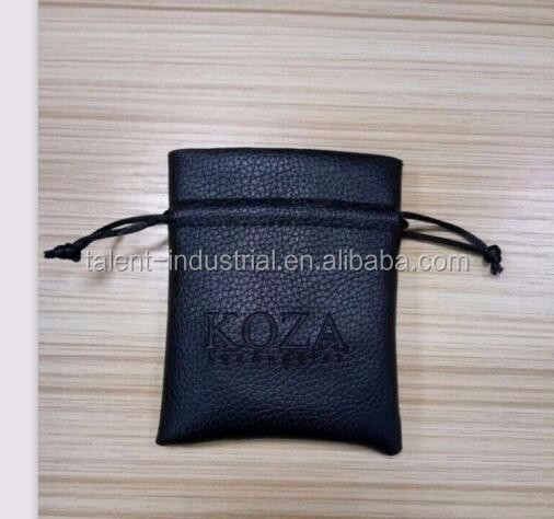 Top classical leather case pouch,double layers cotton fabric inside