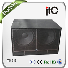 ITC TS-218 Professional 18 inch Subwoofer Speaker for Stage