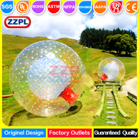 ZZPL Clear Water Zorbing Ball Inflatable