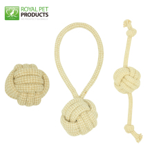 Wholesale High Quality Natural Jute Rope Dog Toy for Chewing