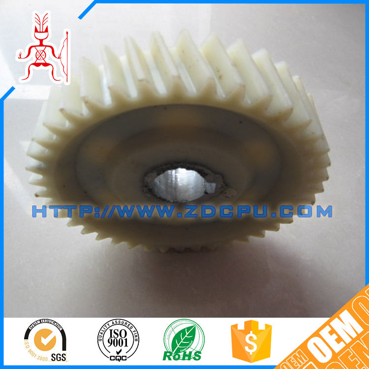 Best price injection molding 22t white plastic gear