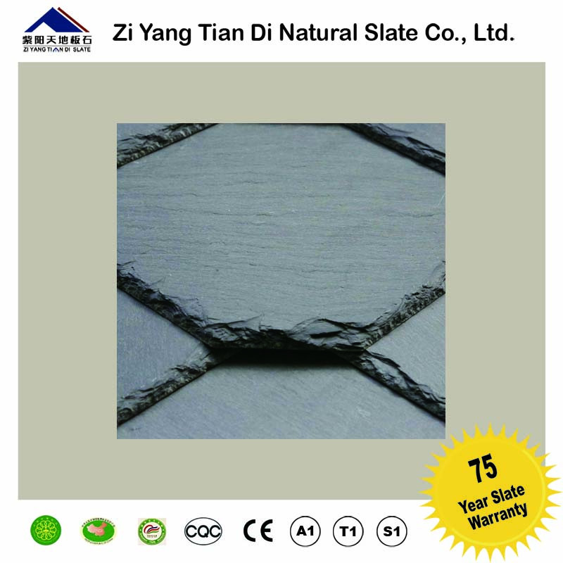 300*300mm Building Materials Natural black Roofing Tiles for Spanish sale